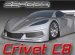 2-speed Crivet C8 für 1/8 GT