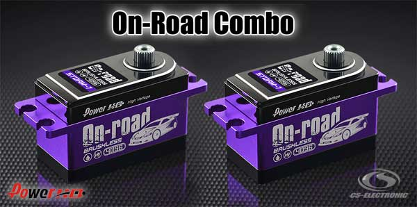CS-Electronic Power-HD BL On-Road Servo Combo