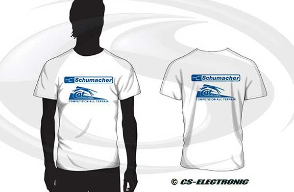 CS-Electronic Schumacher Retro T-Shirt CAT
