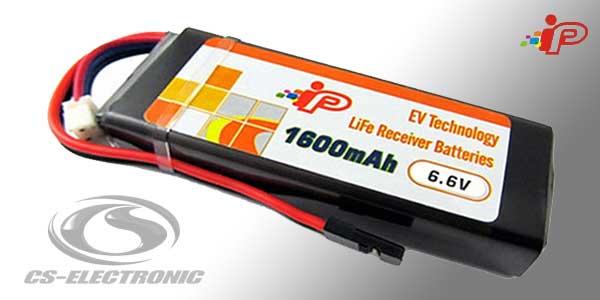 CS-Electronic Sender Empf-Akku Rx/Tx LiFe Flat