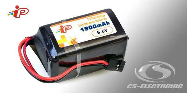 CS-Electronic Empf-Akku Rx LiFe 1900mAh Hump