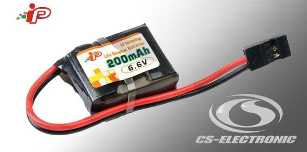 CS-Electronic LiFe Empf. Akku Rx 200mAh 1C 2S