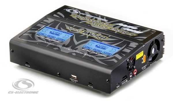CS-Electronic CS Space TX240 Pro Duo Ladegerät