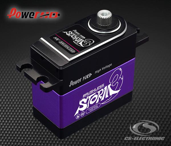 CS-Electronic Power-HD BL HV Storm-3 Servo