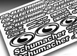 CS-Electronic Team CS-Racing Aufkleberbogen