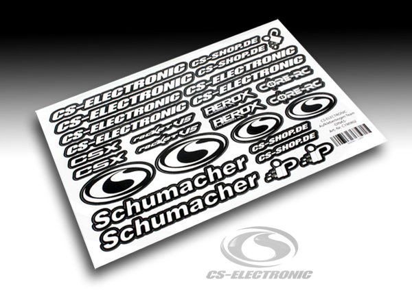 CS-Electronic Team CS-Racing Aufkleberbogen