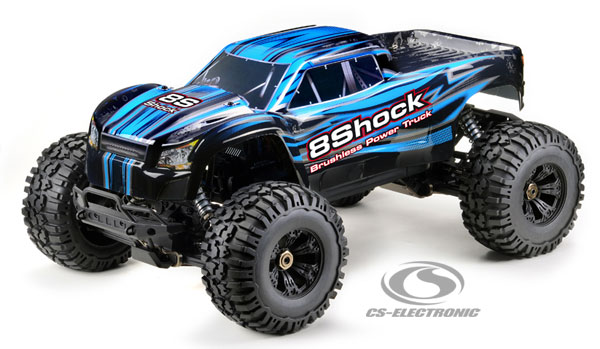CS-Electronic CS 1/5 BL 8Shock Power Truck
