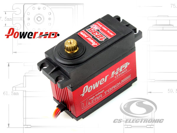 CS-Electronic 1235MG Digital Servo für Großmodelle