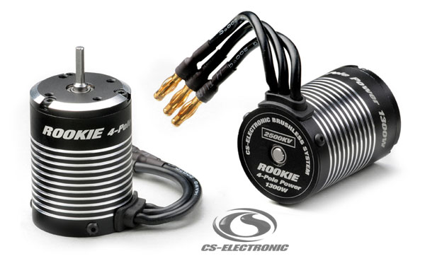 CS-Electronic Rookie 4-Pole Brushless Power Motoren