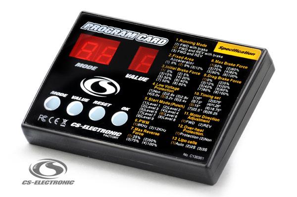 CS-Electronic Rookie-Pro Brushless Program Card