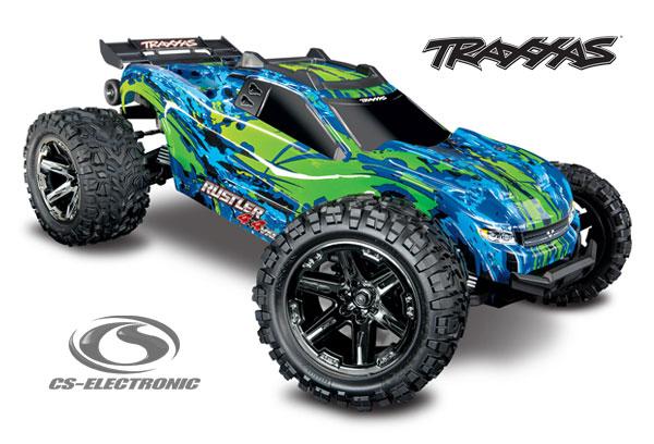 CS-Electronic TRAXXAS Rustler 4x4 BL VXL