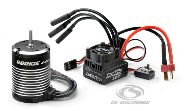 CS-Electronic Rookie PRO10 V2 Brushless Combo´s