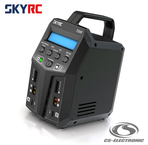 CS-Electronic SkyRC T200 AC/DC Ladegerät LiPo 1-6s
