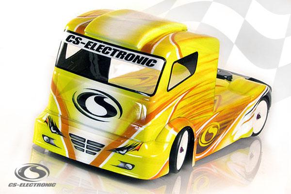 CS-Electronic CS-Racetruck Karosserie, 190mm