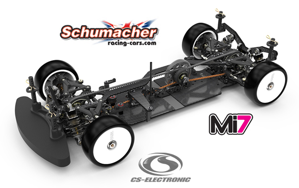 CS-Electronic Mi7 Pro Mittelmotor Version Kit