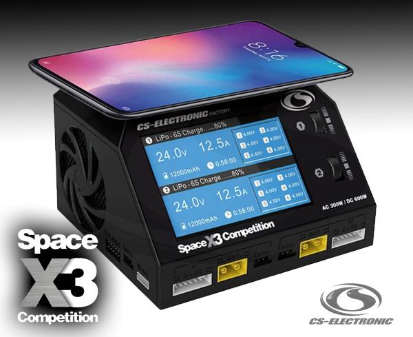 CS-Electronic Space X3 Comp. Duo Ladegerät