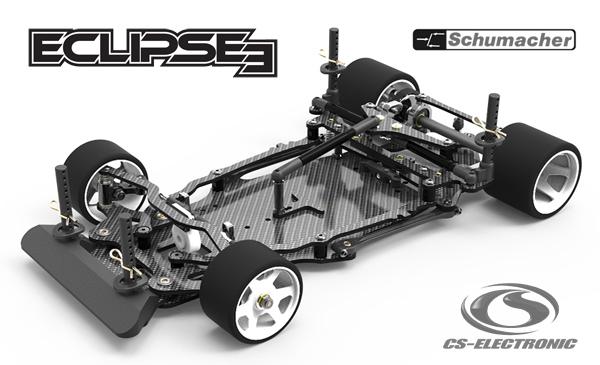 CS-Electronic Schumacher Eclipse 3 LMP Pancar 1/12
