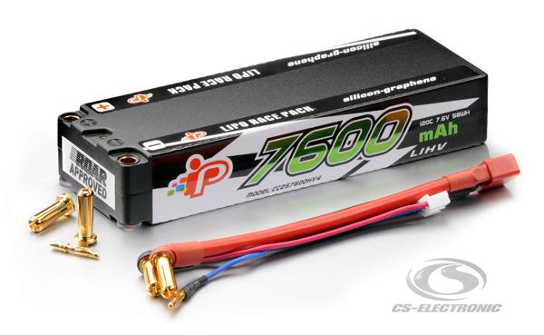 CS-Electronic Intellect Lipo 7,6V 7600mAh Stick LiHV