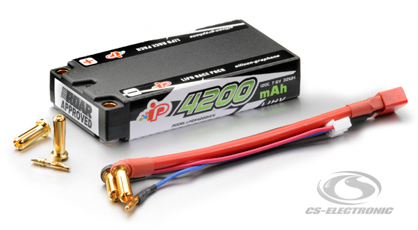 CS-Electronic Intellect Lipo 7,6V 4200mAh Shorty LiHV