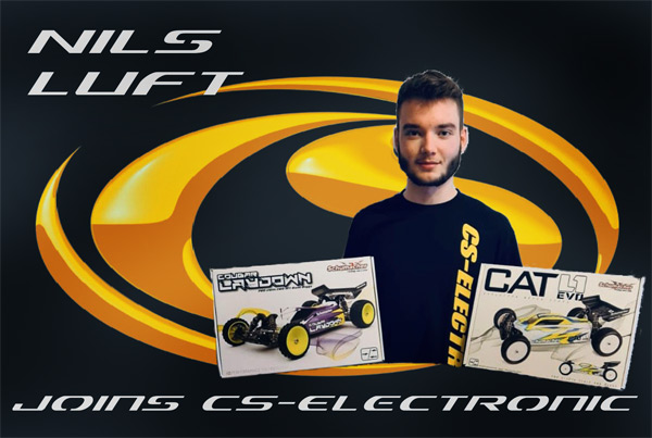 CS-Electronic Nils Luft joins CS-Electronic