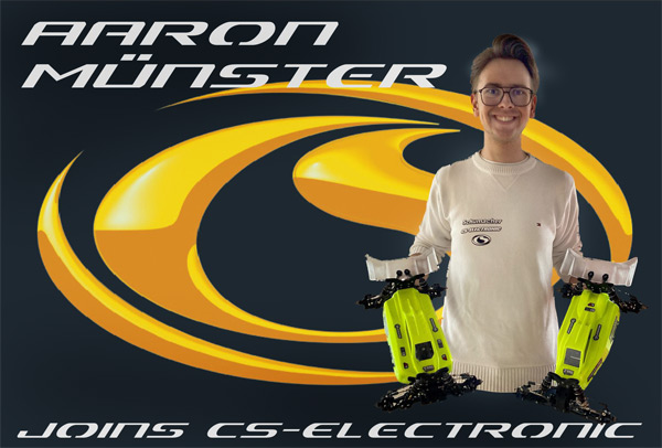 CS-Electronic Aaron Münster joins CS-Electronic