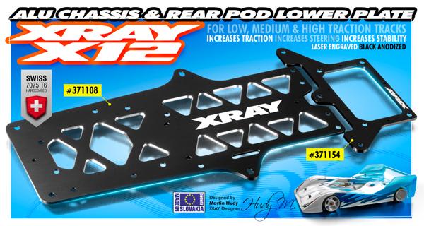 SMI XRAY News XRAY Alu-Chassis für X12´17