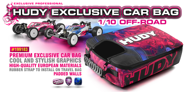 SMI HUDY News HUDY Car Bag 1/10 Off-Road
