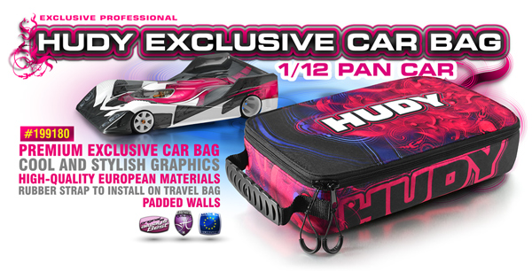 SMI HUDY News HUDY Car Bag 1/12 Pan Car