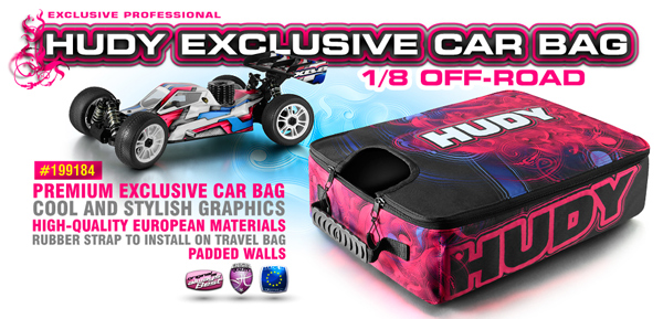 SMI HUDY News HUDY Car Bag 1/8 Off-Road