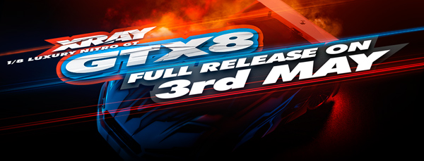 SMI XRAY News XRAY GTX8 Full Release Date