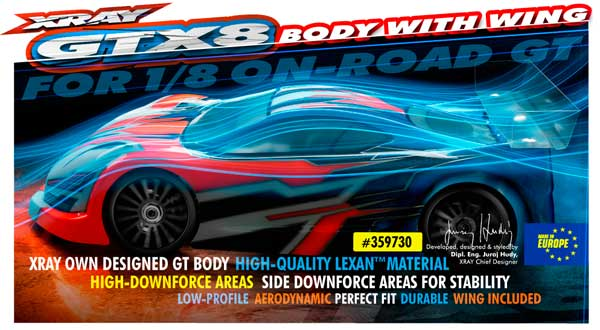 SMI XRAY News Neue Karo für 1/8 On-Road GT