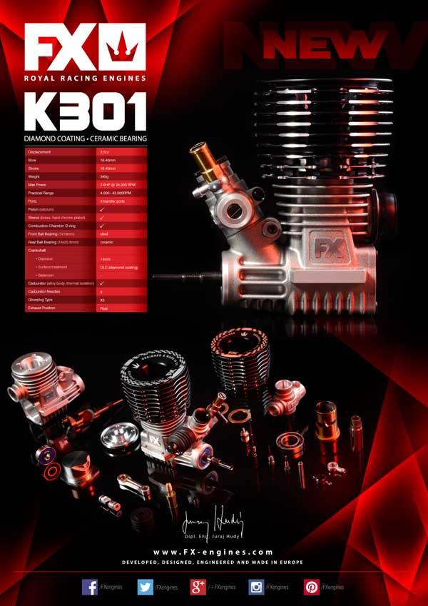 SMI FX-Engines FX 3.5CC Engine .21 – K301