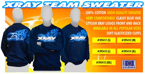 SMI XRAY News XRAY Team Sweater - Blue (S)