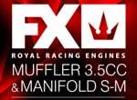 SMI FX-Engines FX Engines Auspuff-Set