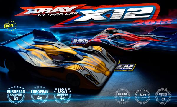SMI XRAY News XRAY X12 ´18 Online Now