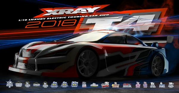 SMI XRAY News XRAY T4 ´18 Online Now