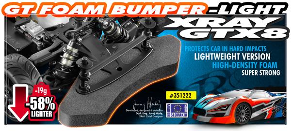 SMI XRAY News GT Schaumstoff Bumper Light