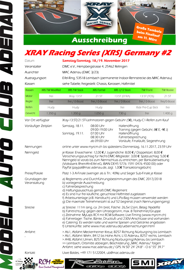 SMI Motorsport News XRS Germany #2 MAC Adenau