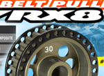 SMI XRAY News RX8 Alu-Riemenrad 30T