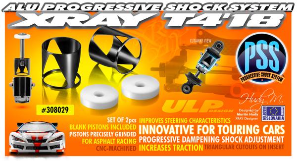 SMI XRAY News T4´18 ULP Progressive Shock System