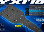 SMI XRAY News X1´18 Graphite Chassis 2.0mm