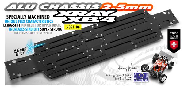 SMI XRAY News Neues XB4 Alu Chassis