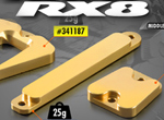 SMI XRAY News RX8 Messing Chassis Gewichte