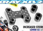 SMI XRAY News XB2 Graphit Frontflügelhalter