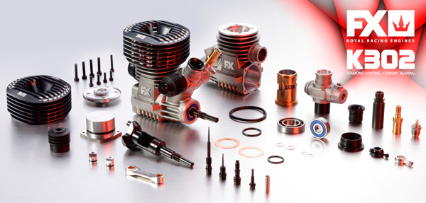 SMI FX-Engines FX 3.5cc Motor .21 - K302