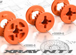 SMI XRAY News Composite Riemenräder Set NT1