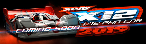 SMI XRAY News XRAY X12 ´2019 Coming Soon