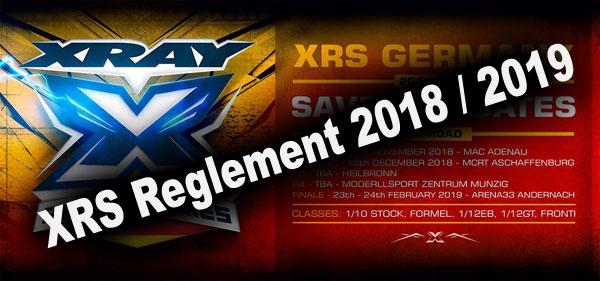 SMI Motorsport News XRS Germany Reglement ´18/´19