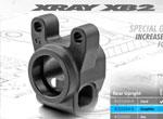 SMI XRAY News Hinterer Radträger Graphite für XB2/4/XT