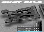 SMI XRAY News XB4 Graphit Composite-Querlenker